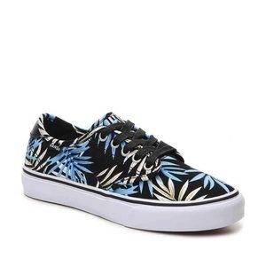 Vans Black Camden Deluxe Palm Sneaker size 7